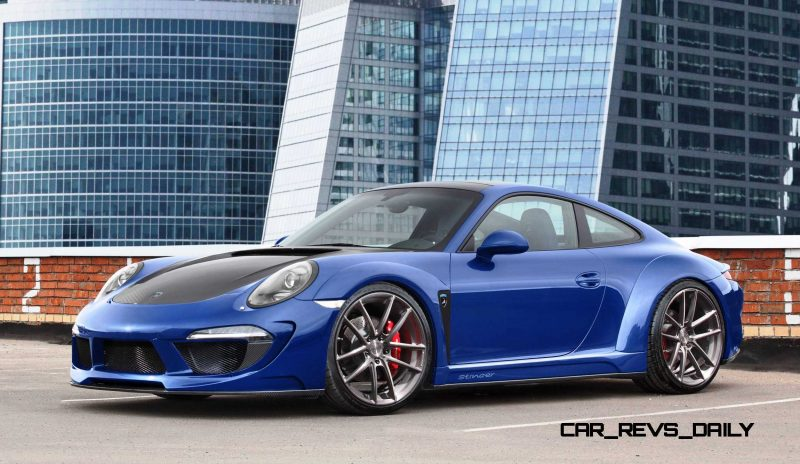 Porsche 991 Stinger by TopCar Now Available for All 911 Carrera Models and Bodystyles 6