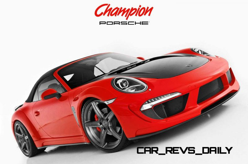 Porsche 991 Stinger by TopCar Now Available for All 911 Carrera Models and Bodystyles 62