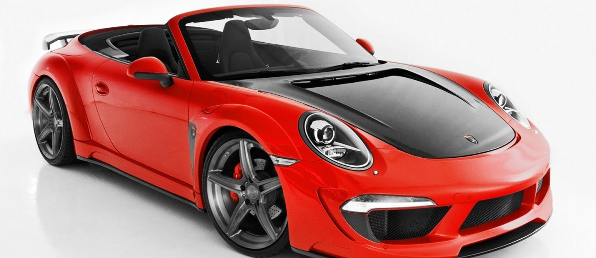 Porsche 991 Stinger by TopCar Now Available for All 911 Carrera Models and Bodystyles 63