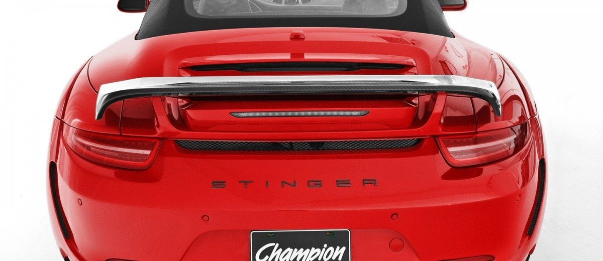 Porsche 991 Stinger by TopCar Now Available for All 911 Carrera Models and Bodystyles 68