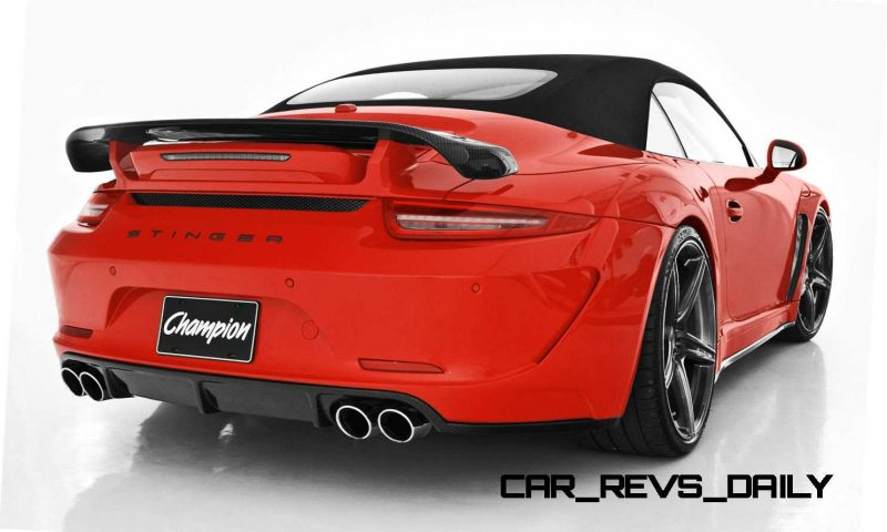Porsche 991 Stinger by TopCar Now Available for All 911 Carrera Models and Bodystyles 69