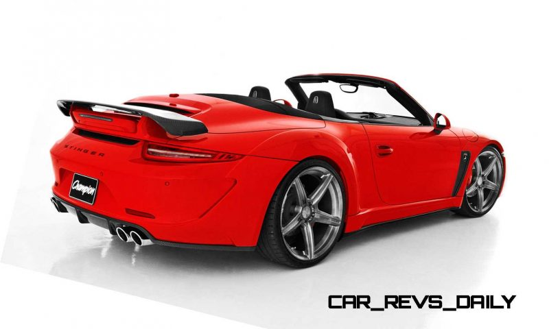 Porsche 991 Stinger by TopCar Now Available for All 911 Carrera Models and Bodystyles 71