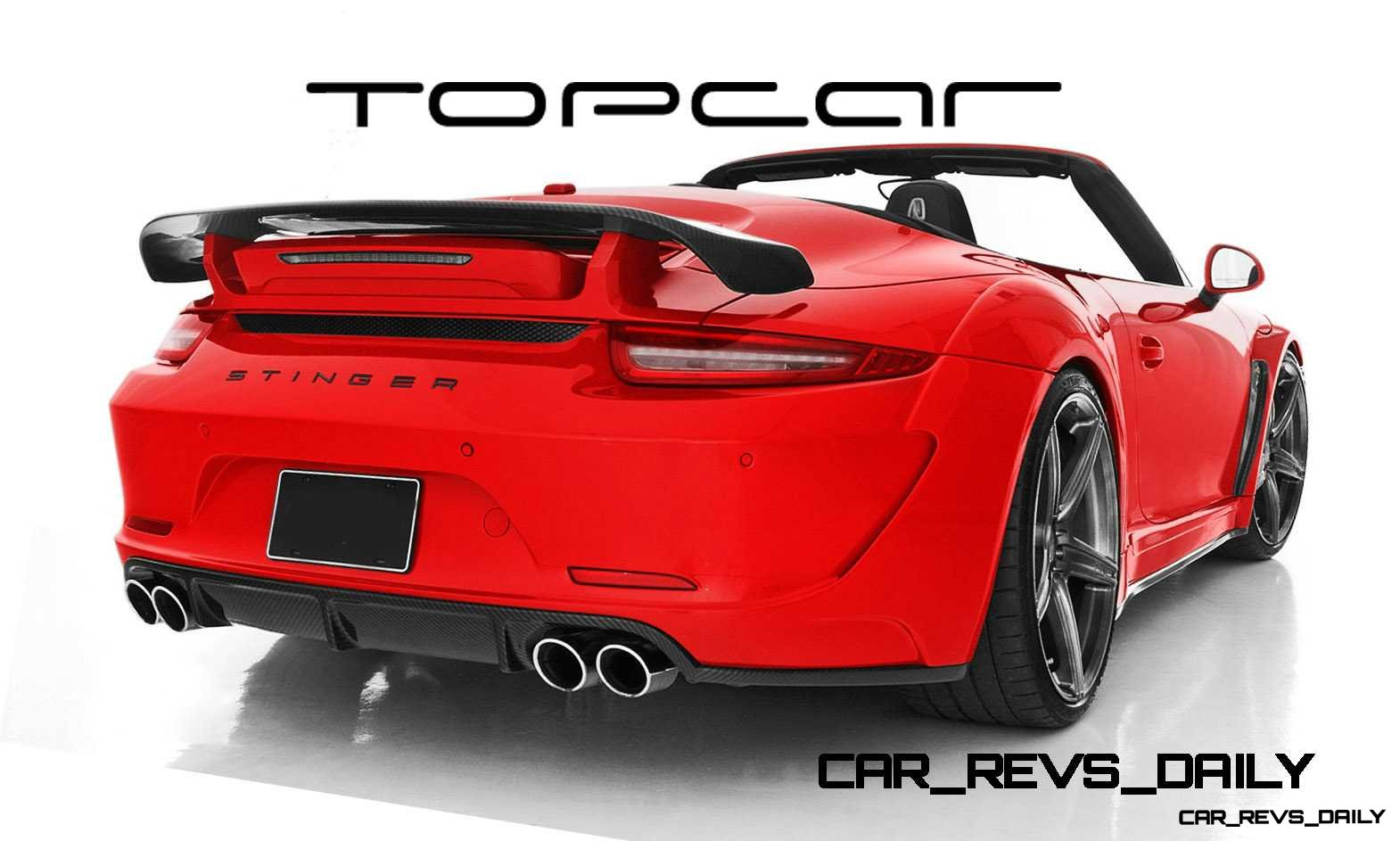 Porsche 991 Stinger by TopCar Now Available for All 911 Carrera Models and Bodystyles 73 copy copy