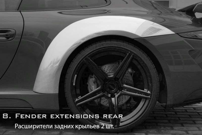 Porsche 991 Stinger by TopCar Now Available for All 911 Carrera Models and Bodystyles 81