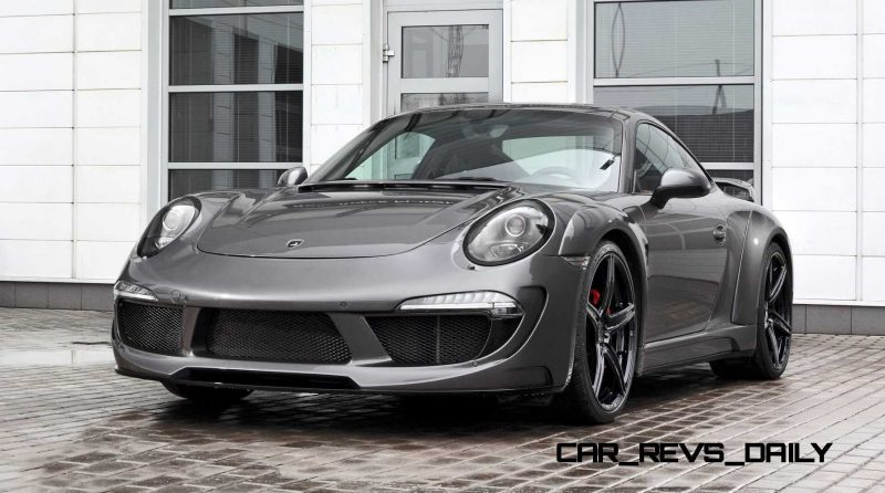Porsche 991 Stinger by TopCar Now Available for All 911 Carrera Models and Bodystyles 86