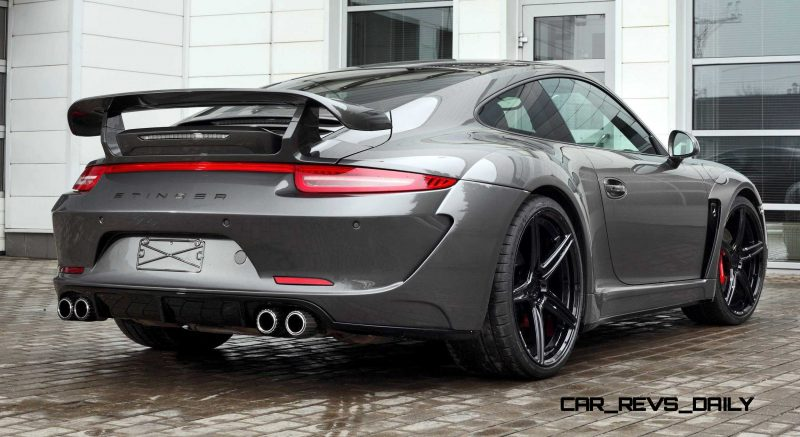 Porsche 991 Stinger by TopCar Now Available for All 911 Carrera Models and Bodystyles 91