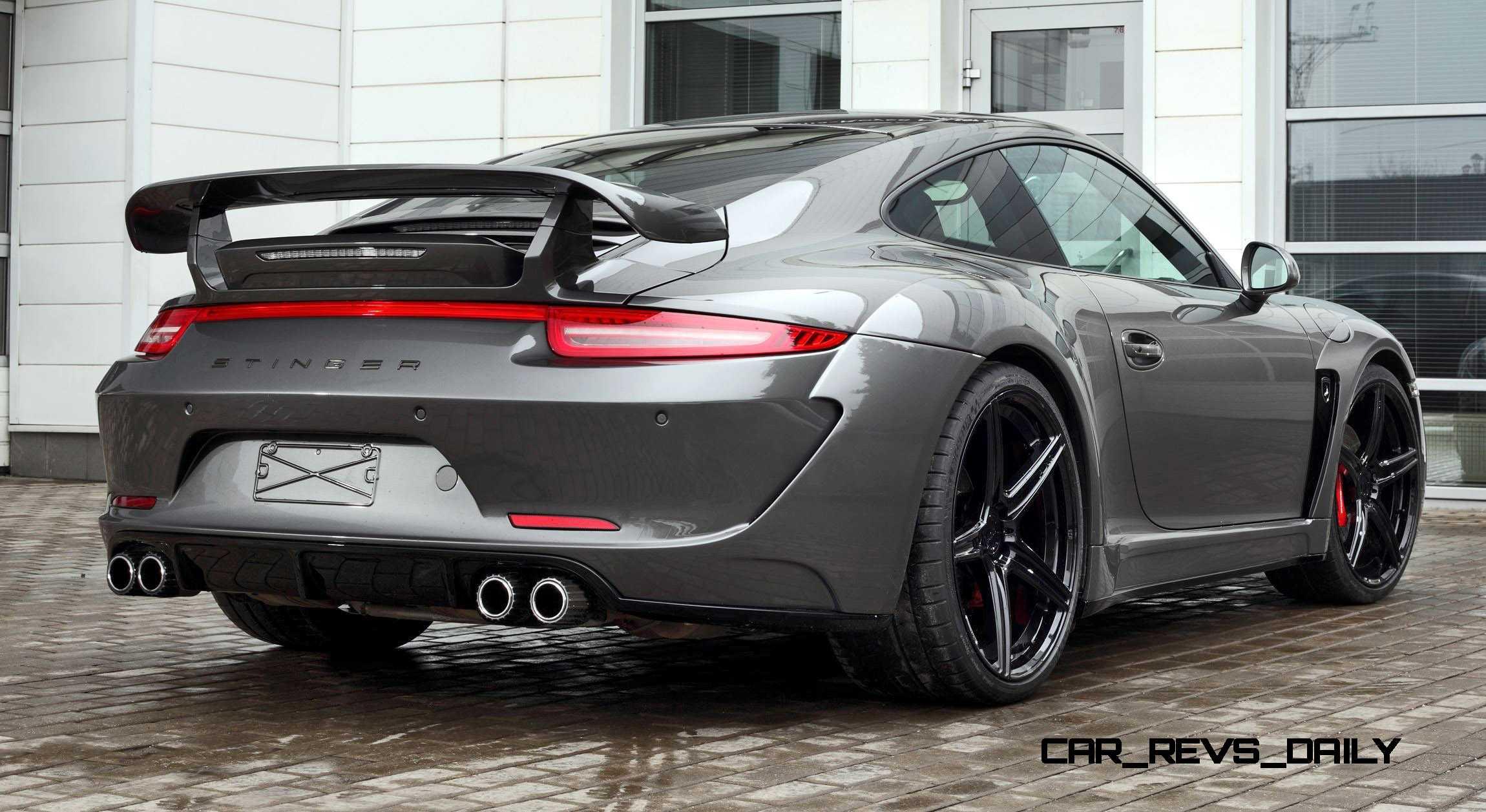Car Paint Kit >> Porsche 991 Stinger by TopCar