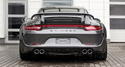 Porsche 991 Stinger by TopCar Now Available for All 911 Carrera Models and Bodystyles 93