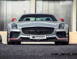 AMG SLS Widebody 900GT By Prior Design Is Radical Design Upgrade