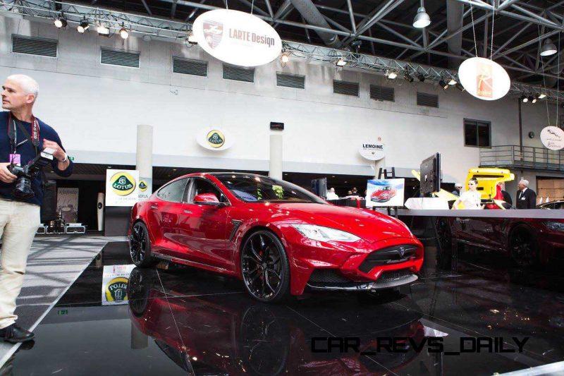 Tesla Model S by LARTE Design 8