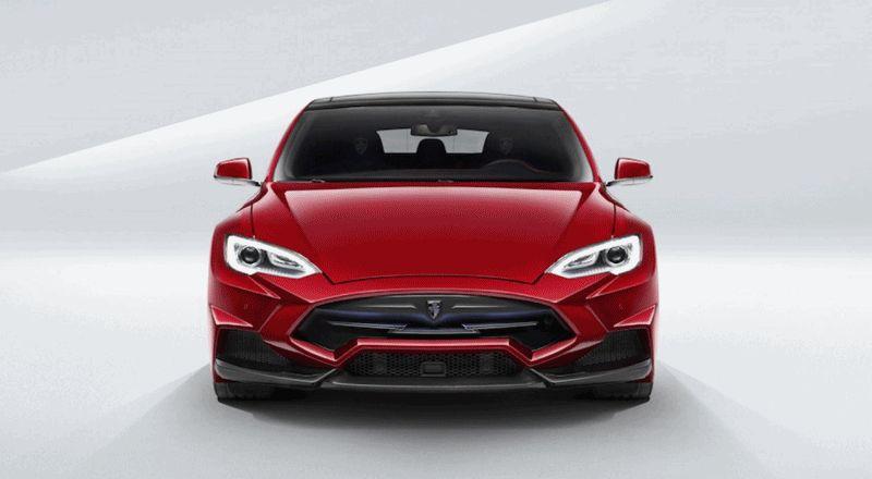 Tesla Model S by LARTE