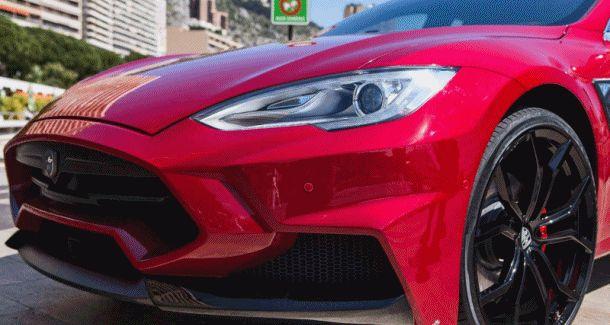 Tesla Model S by LARTE2