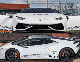 VOS Tuning for Lamborghini Huracan Brings New Carbon Aero + Shouty Akrapovic Exhaust