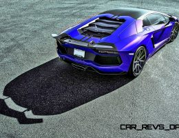 Vorsteiner Aventador-V Introduces Zaragoza Active Aero Mods