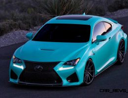 2015 Lexus RCF on VOSSEN VPS311 Forged Alloys – Customized by InstaBuilt VIP Auto Salon