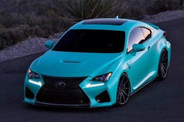 2015 Lexus RCF on VOSSEN VPS311 Forged Alloys - Customized by InstaBuilt VIP Auto Salon