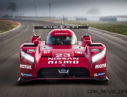 LeMans 2015 – Nissan GT-R LM NISMO Stuns On Track With Vacuum Aero!