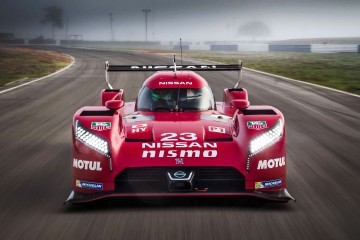 LeMans 2015 - Nissan GT-R LM NISMO Stuns On Track With Vacuum Aero!