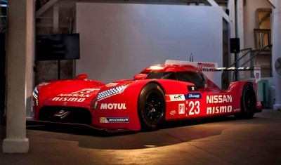 NISMO team holds media sessions in Paris