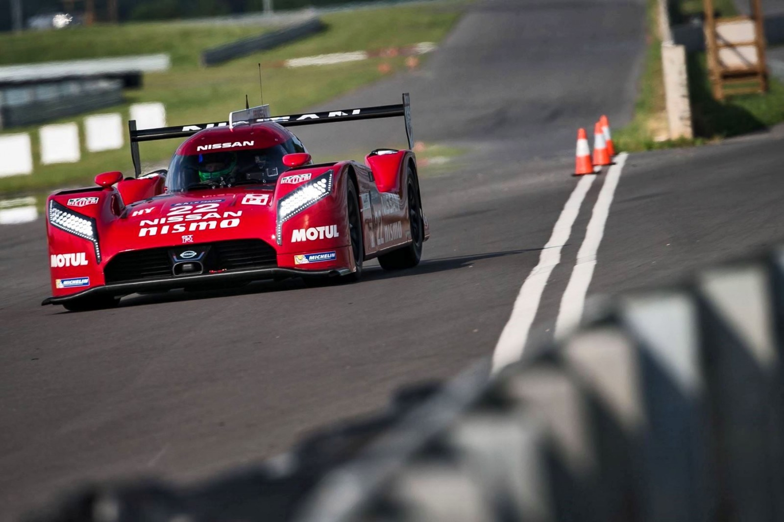 Nissan GT-R LM NISMO Test Session