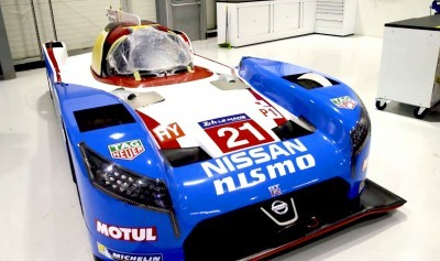 Nissan celebrates 1990 pole lap of Le Mans with retro livery for LM P1 car