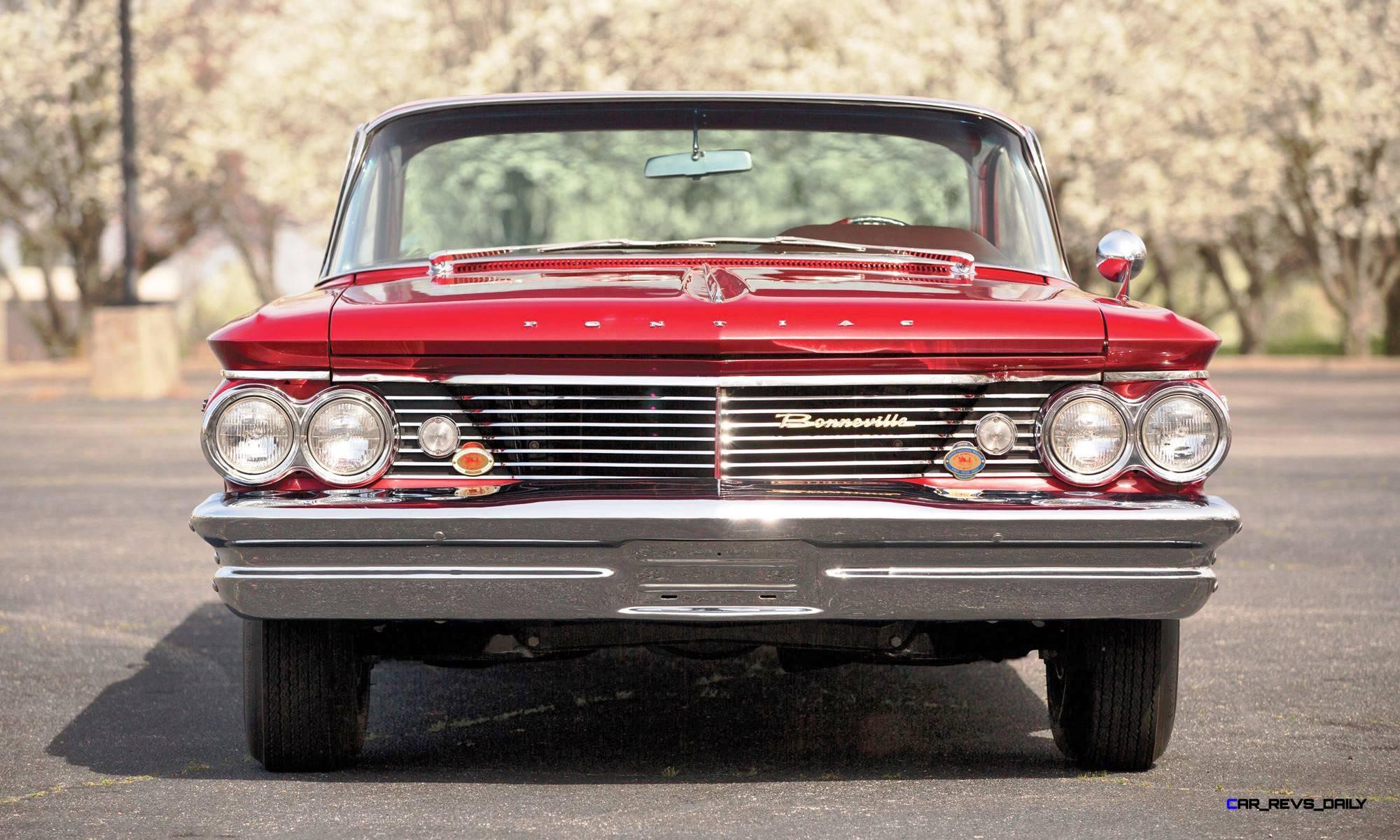 1960 Pontiac Bonneville Sport Coupe Station Wagon 16