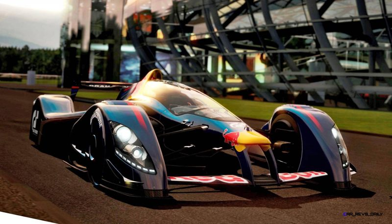 Car Name: Red Bull X1 S.Vettel Manufacturer: Gran Turismo Year: 2010