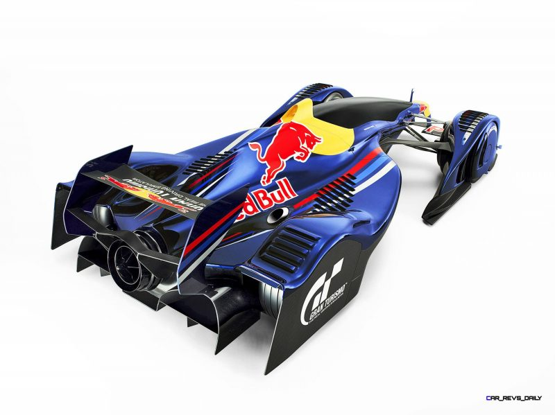 "Car Name: Red Bull X2010 S.Vettel | Manufacturer: Gran Turismo | Year: 2010 | ""Generated in Game""  All manufacturers, cars, names, brands and associated imagery featured are trademarks and/or copyrighted materials of their respective owners. All rights reserved. // Polyphony Digital Inc. / Sony Computer Entertainment Inc. // P-20120217-82666 // Usage for editorial use only // Please go to www.redbullcontentpool.com for further information. //"