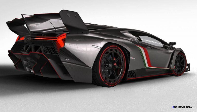 2013 Lamborghini VENENO Coupe 32