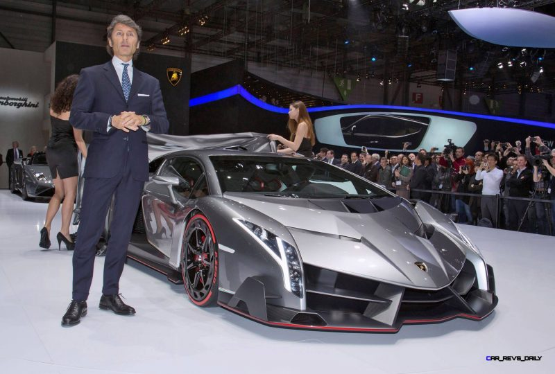 2013 Lamborghini VENENO Coupe 33