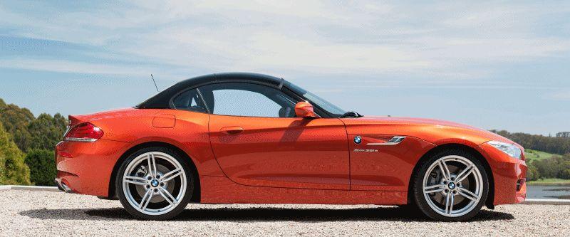 2014 BMW Z4 Roof Animatied GIF