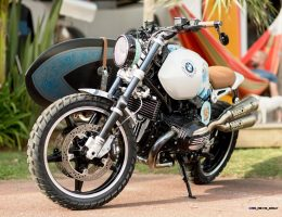 2015 BMW Concept Path 22 Previews Production Scrambler at Biarritz Bike Fest