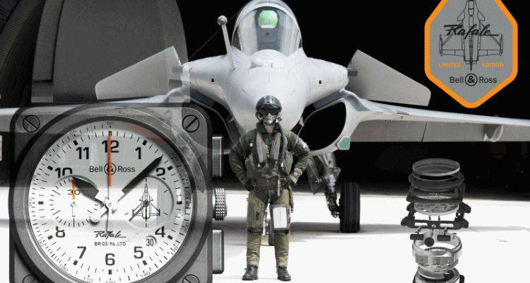 2015 Bell & Ross BR 03 RAFALE Is Ceramic Special With Fighter-Jet Tech Transfer