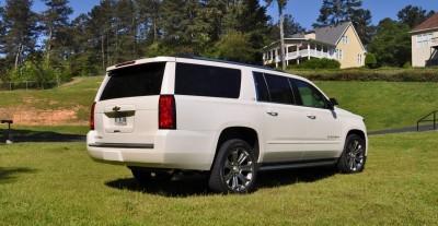 2015 Chevrolet Suburban LTZ 4WD White Diamond Tricoat 18