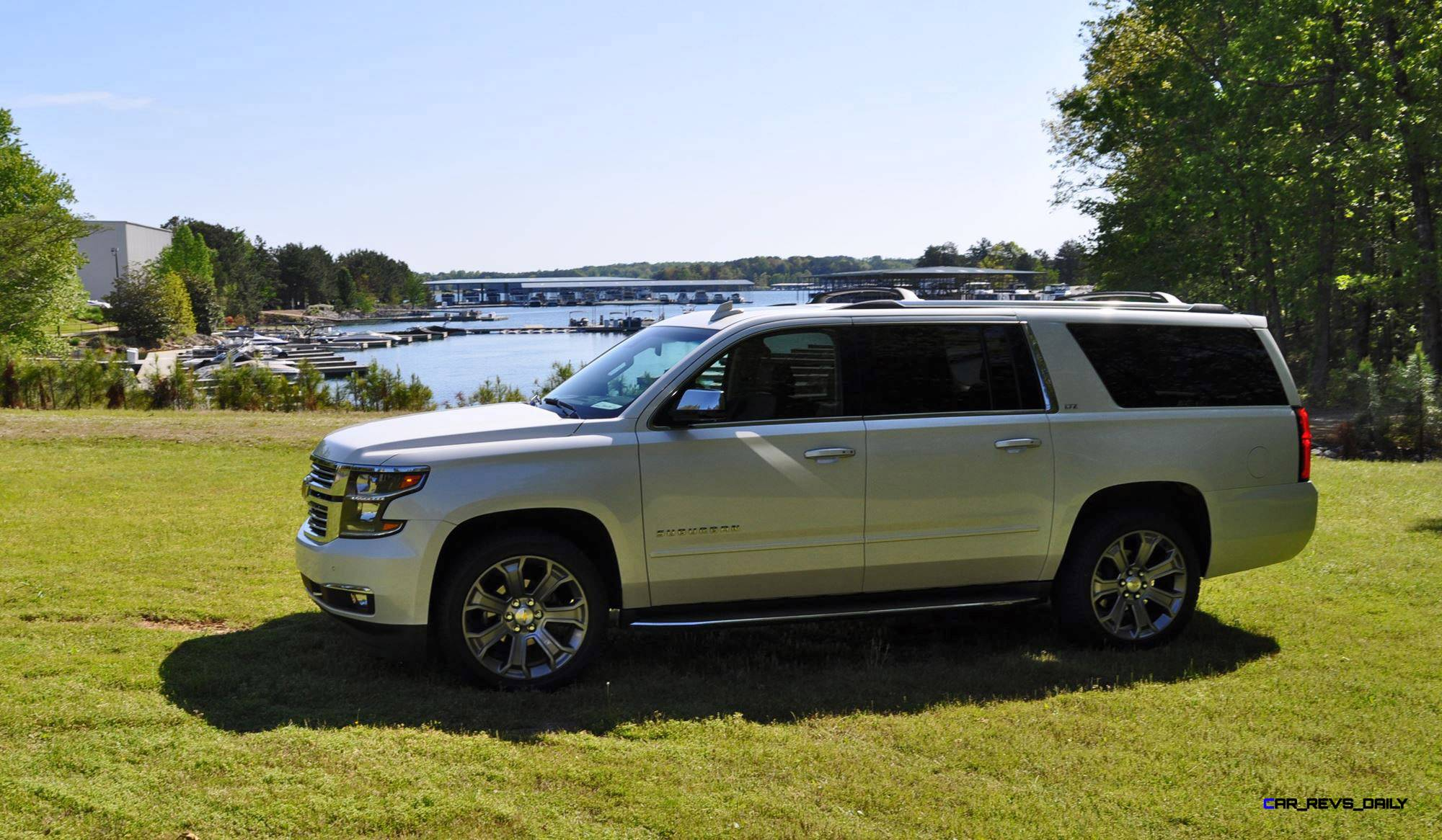 2015 chevrolet suburban ltz 4wd white diamond tricoat 32. Cars Review. Best American Auto & Cars Review