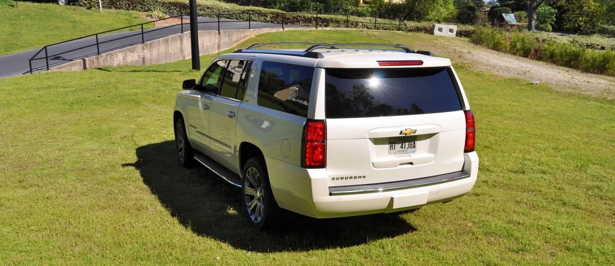 2015 Chevrolet Suburban LTZ 4WD White Diamond Tricoat 43