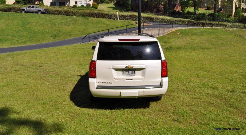 2015 Chevrolet Suburban LTZ 4WD White Diamond Tricoat 46