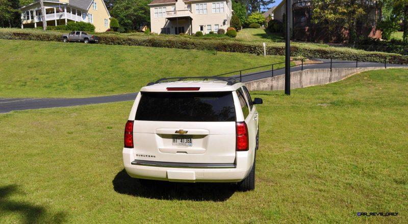 2015 Chevrolet Suburban LTZ 4WD White Diamond Tricoat 48