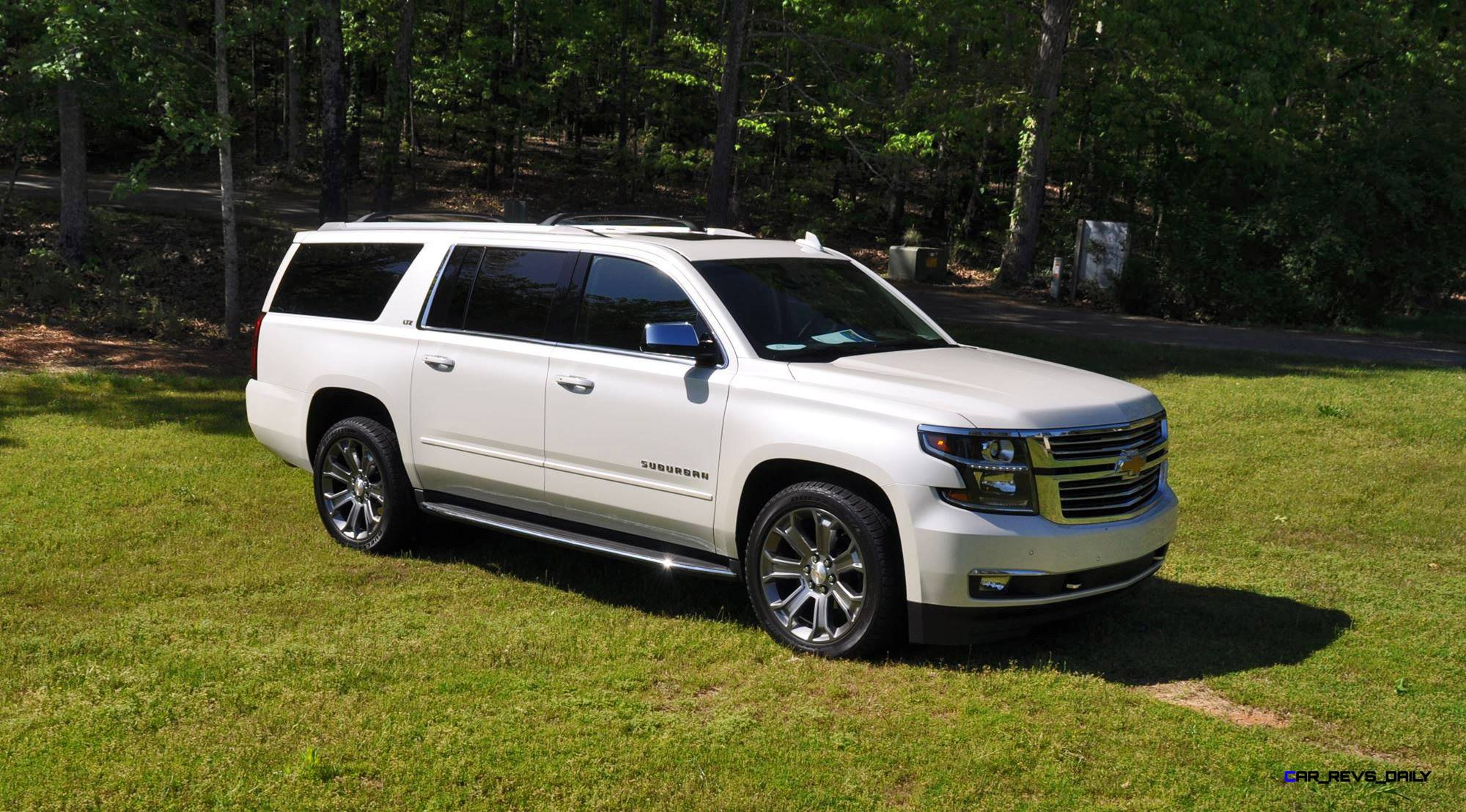 2015 chevrolet suburban ltz 4wd white diamond tricoat 67. Black Bedroom Furniture Sets. Home Design Ideas