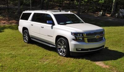 2015 Chevrolet Suburban LTZ 4WD White Diamond Tricoat 69