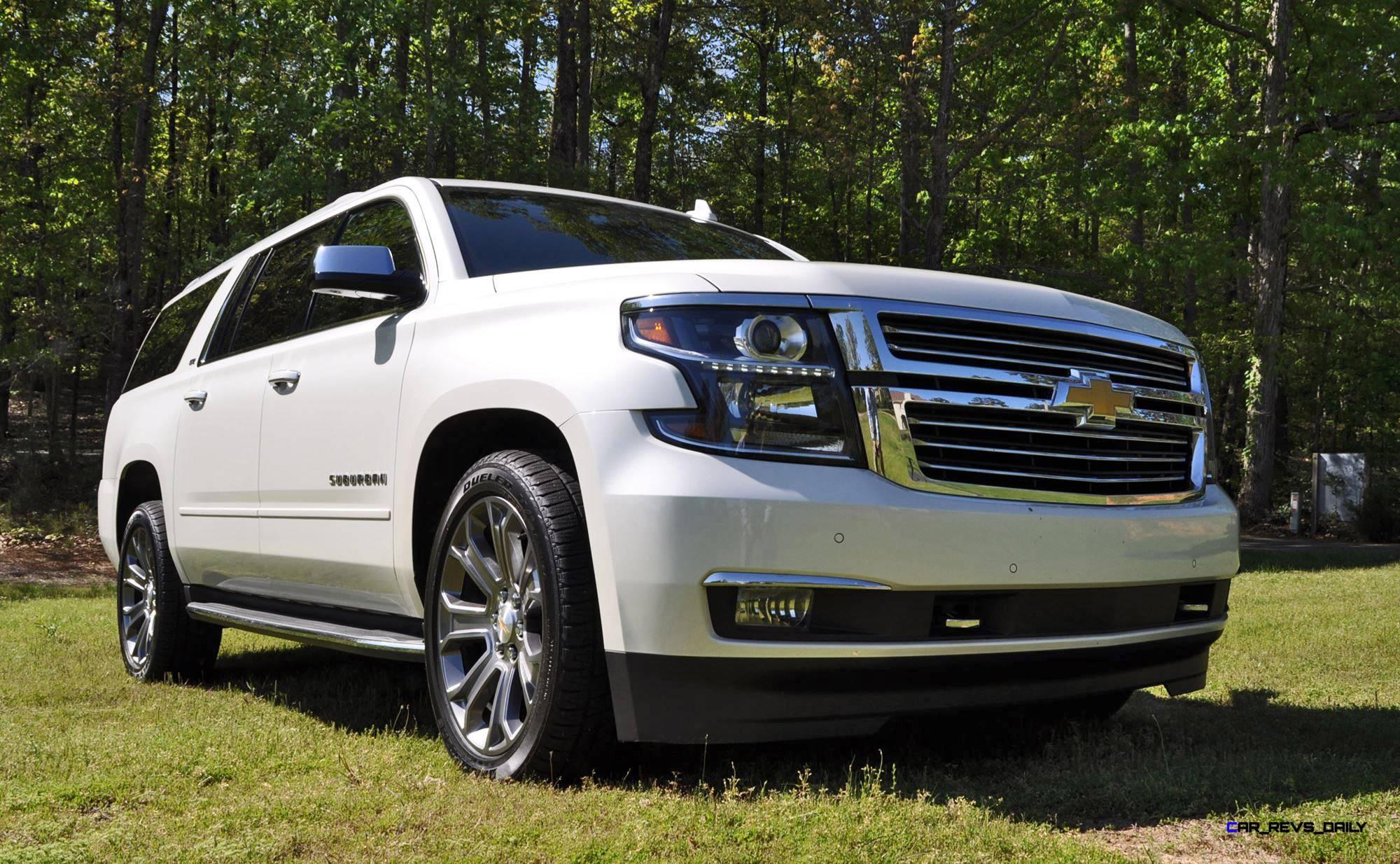 2015 Chevrolet Suburban LTZ 1 2 Ton 4WD Review