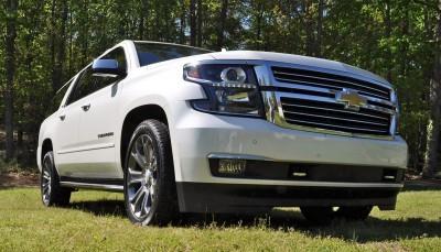 2015 Chevrolet Suburban LTZ 4WD White Diamond Tricoat 76