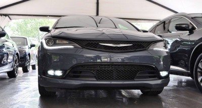 2015 Chrysler 200S Ceramic Blue 5