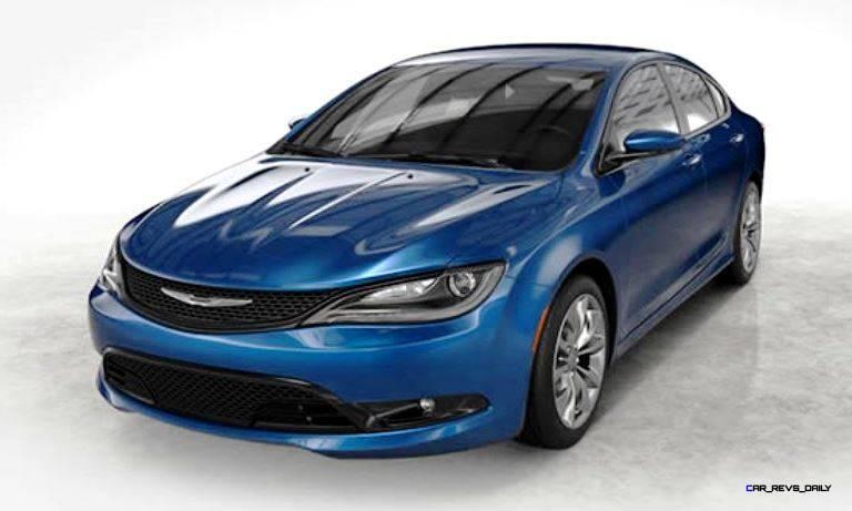 2015 Chrysler 200S Colors 1