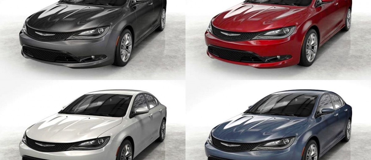 2015 Chrysler 200S Colors 2-tile
