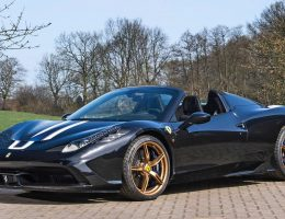 2015 Ferrari 458 Speciale Aperta Doubles Price at RM Villa Erba Auction