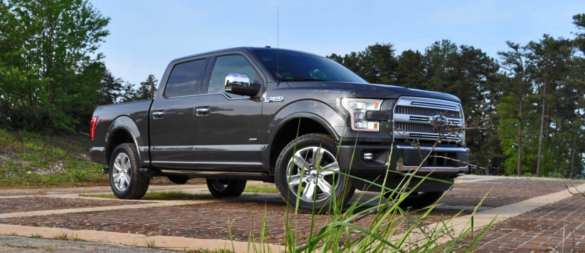 2015 Ford F-150 Platinum 4x4 Supercrew Review 10