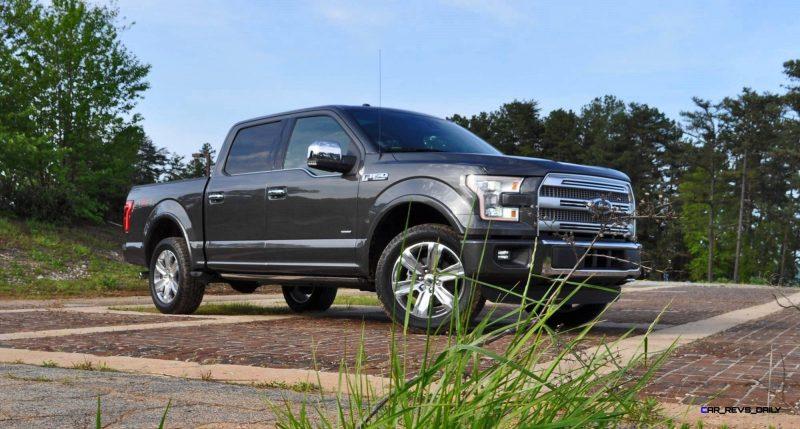 2015 Ford F-150 Platinum 4x4 Supercrew Review 10