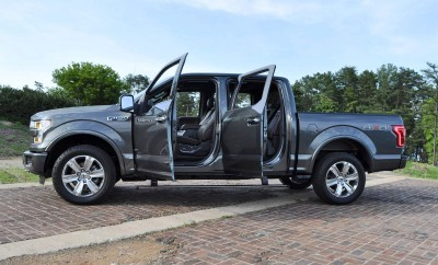 2015 Ford F-150 Platinum 4x4 Supercrew Review 103