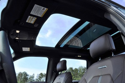2015 Ford F-150 Platinum 4x4 Supercrew Review 104